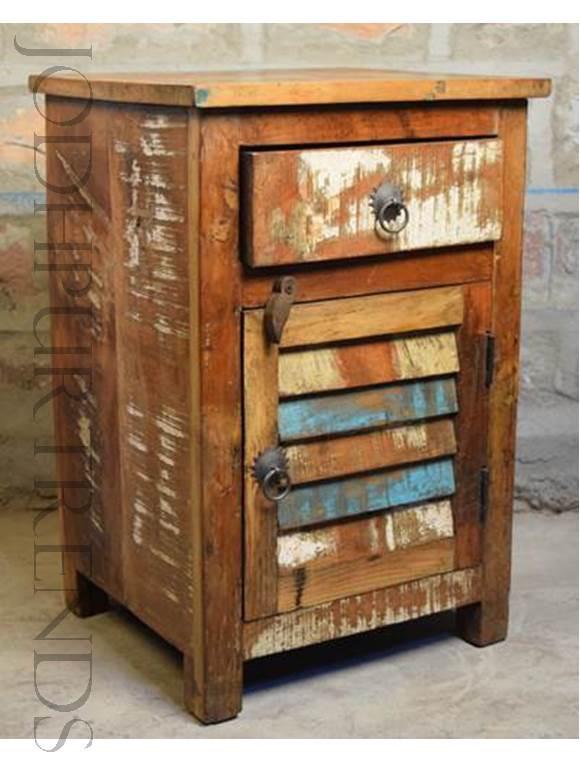 reclaimed furniture bedsides designs