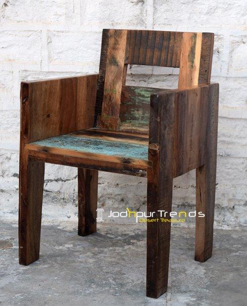 Reclaimed Dining Chair | Restaurant Armchairs