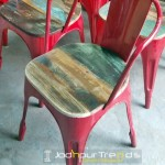 Red Bistro Chair   Commercial Restaurant Dining Chairs