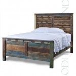 Hand Crafted Reclaimed Bed | Handmade Hotel Furniture