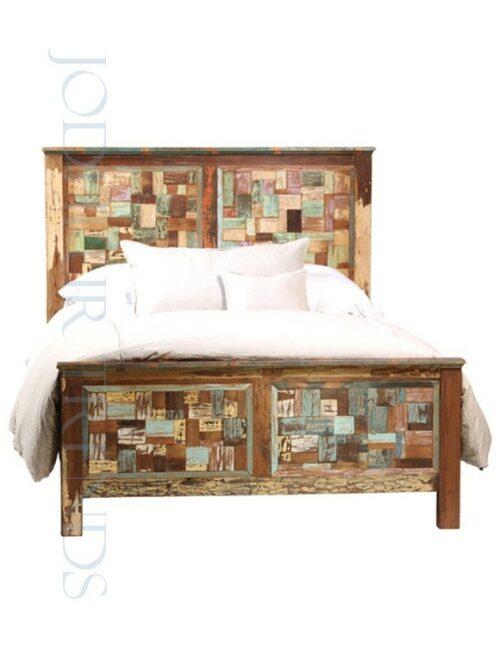Multicolored Bed | Bed Design Furniture In India Price