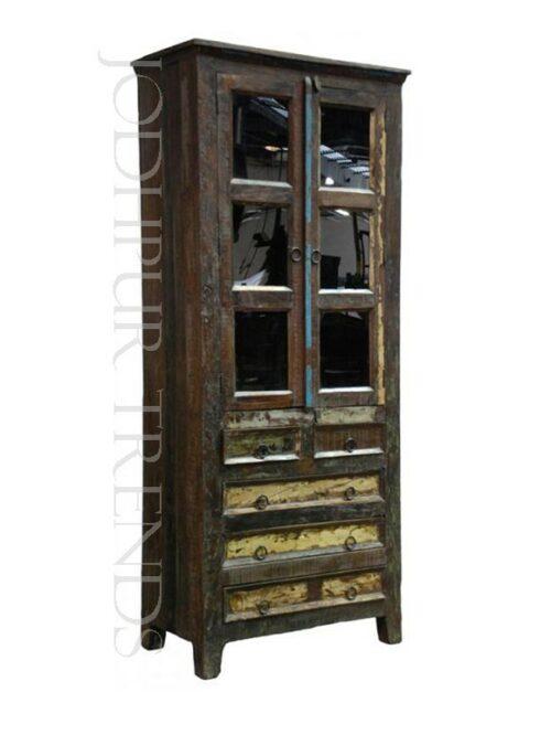 Reclaimed Glass Bookshelves | Bookshelves Manufacturers