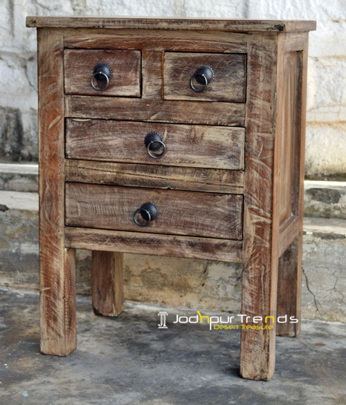 Reclaimed Nightstand Bespoke Bedside Furniture