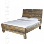 Rustic Reclaimed Bed | Bed Manufacturers