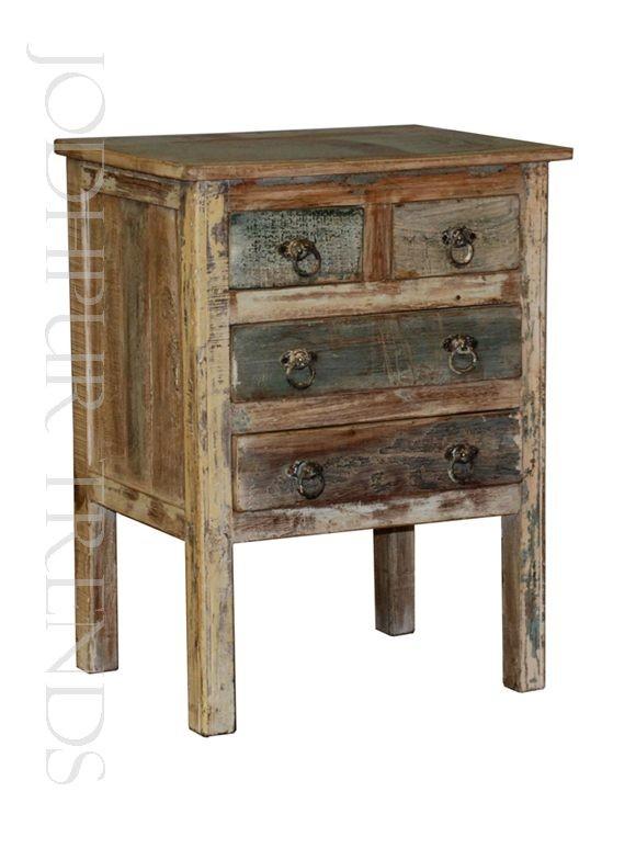 Rustic Reclaimed Nightstand | Bespoke Bedside Furniture