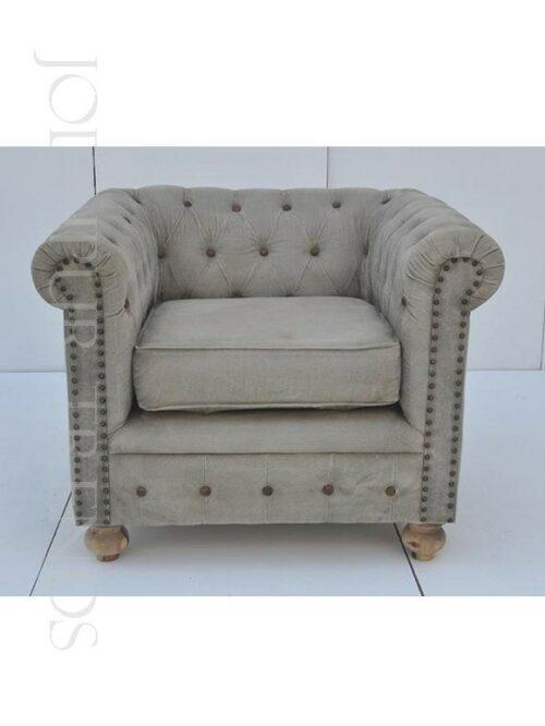 Tufted Designer Armchair | Sofa Chesterfield