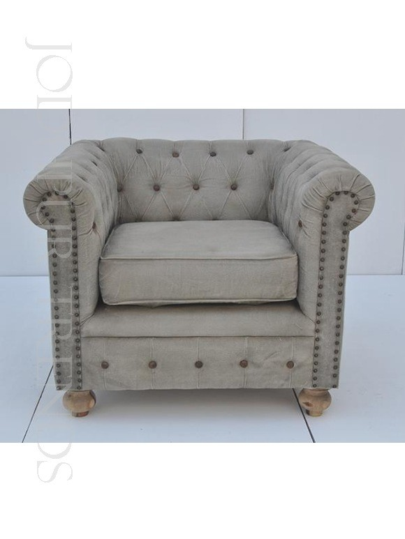 Tufted Designer Armchair | Sofa Chesterfield