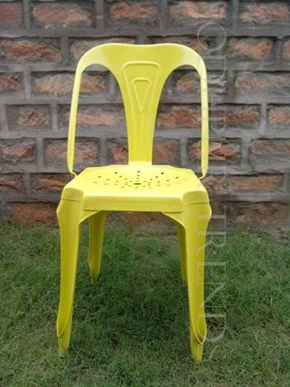 Yellow Chair | Fancy Restaurant Chairs