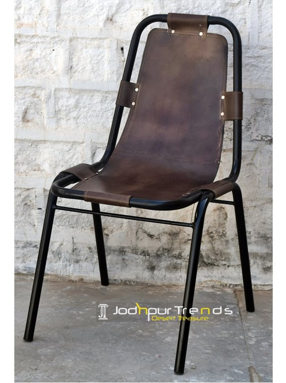 Leather Cafe Chair   Cafe Furniture Chairs