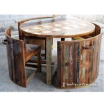 Booth Dining Set | Wood Restaurant Booths