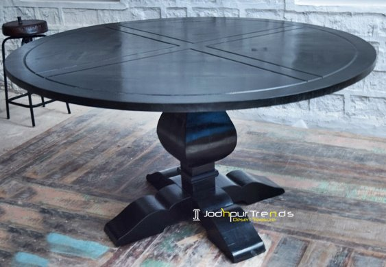 Carved Dining Table | Industrial Restaurant Tables