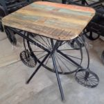 Designer Rustic Dining Table | Modern Restaurant Tables And Chairs