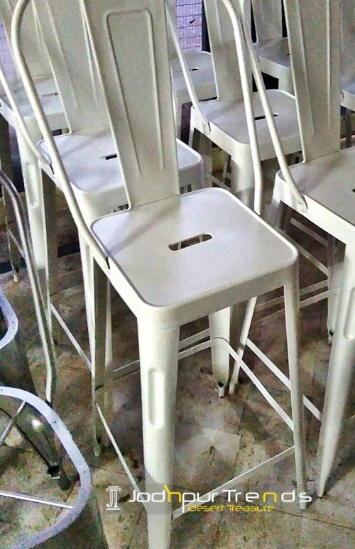 High Barchair | White Restaurant Chairs