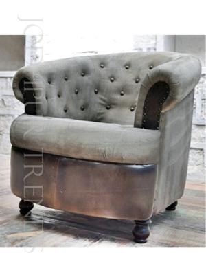 Vintage Tufted Back Sofa | Handmade Sofa