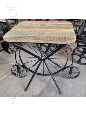 Designer Vintage Table | Cool Restaurant Tables