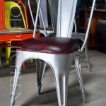 Tolix Leather Chair   Contract Restaurant Chairs