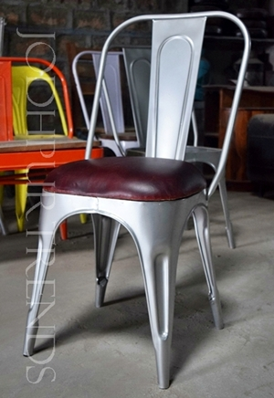 Tolix Leather Chair | Contract Restaurant Chairs
