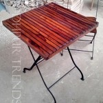 Center Table in Red | Cool Cafe Tables