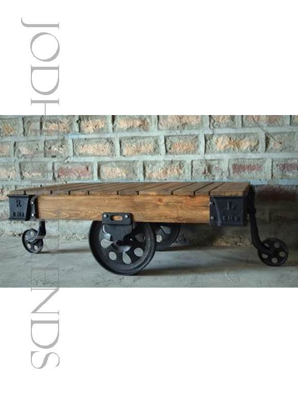 Designer Cart Coffee Table | Coffee Table Wholesale