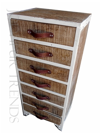 Drawer Chest in Rough Mango Wood | Best Of India Furniture