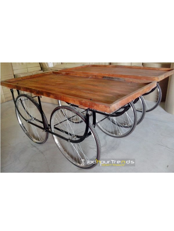 Food Service Cart with Wheel   Industrial Wheels for Furniture