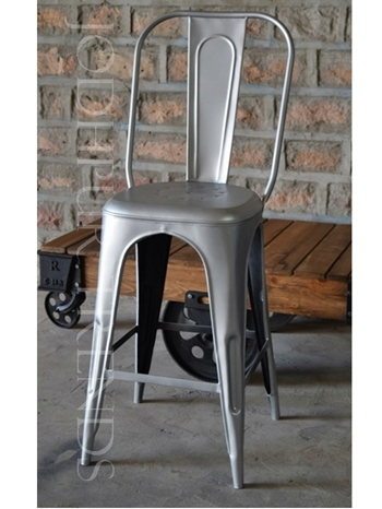 Silver Garden Chair | Iron Garden Furniture
