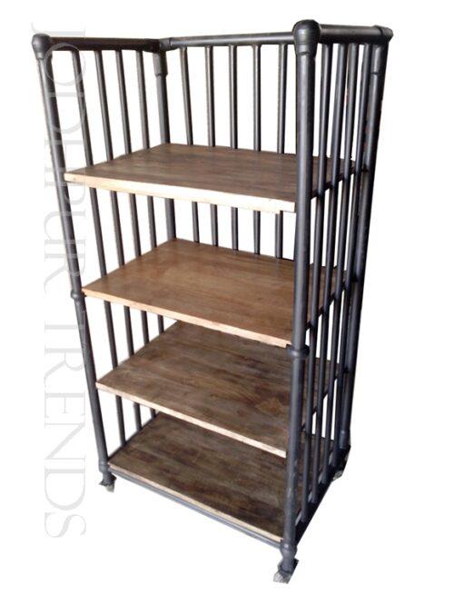 Industrial Bookshelf | Custom Commercial Furniture