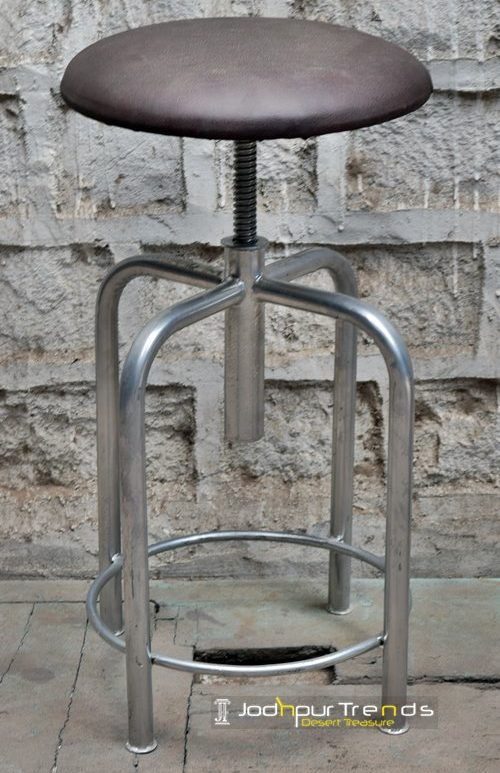 Chrome Stool | Restaurant Chair Design