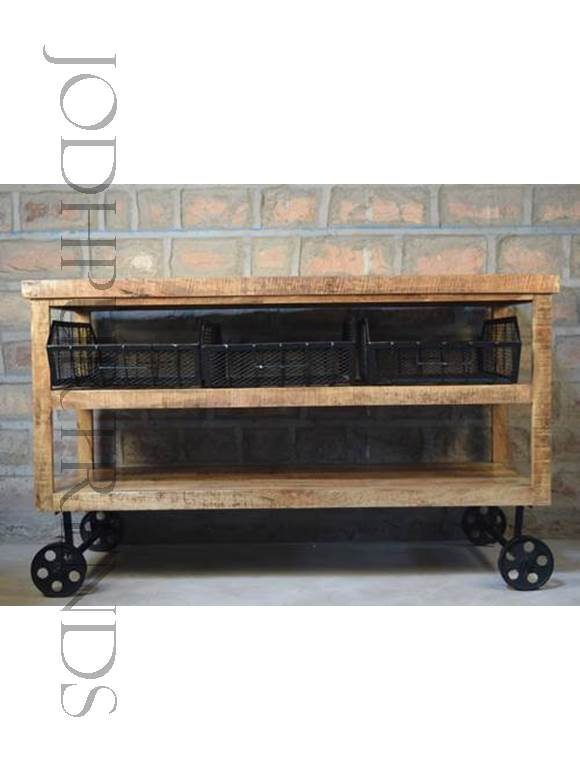 Kitchen Rack | Industrial Shelving Furniture