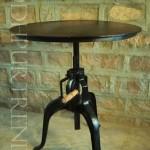 Crank Dining Table cum Bar Table   Industrial Crank Furniture