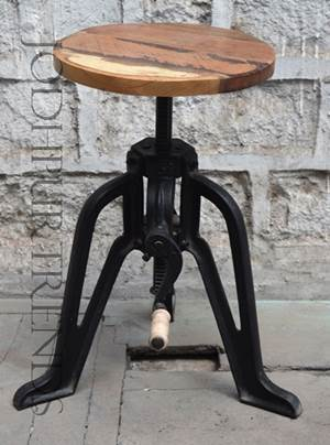 Adjustable Bar Stool | Black Restaurant Chairs