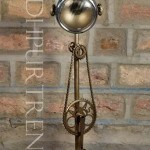 Cycle Bell Lamp | Industrial Cafeteria Furniture