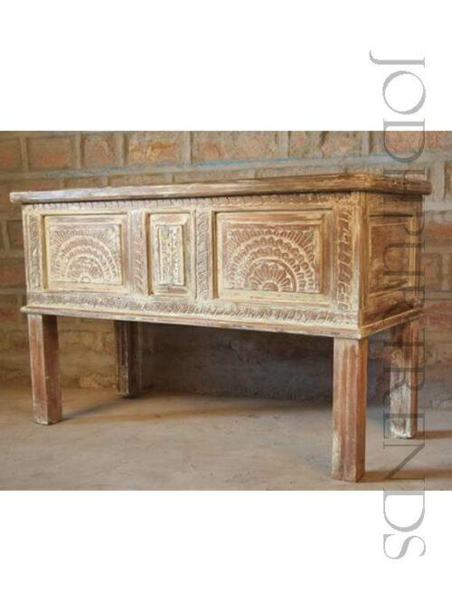 Indian Vintage Console | Indian Rosewood Furniture Bedroom Furniture