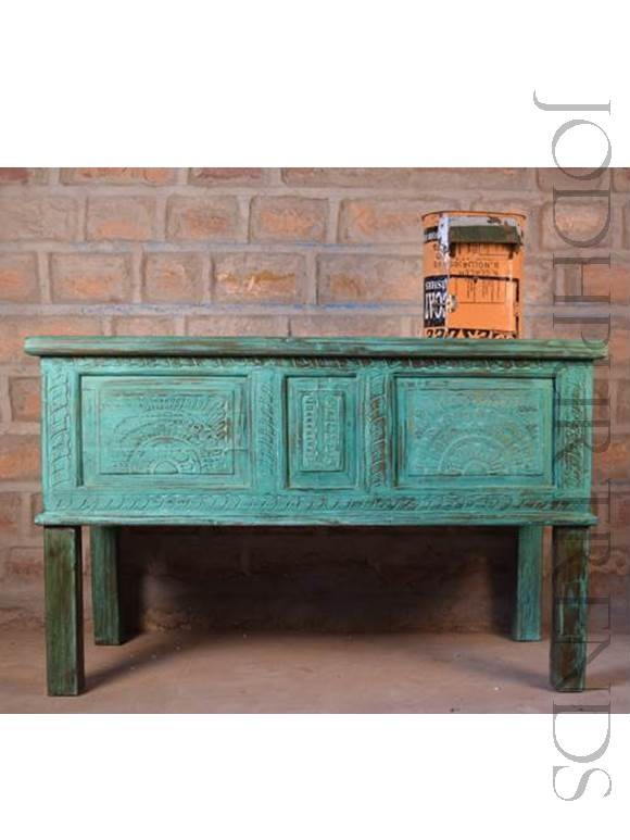 Antique Console Table | Vintage Reclaim Wood Furniture