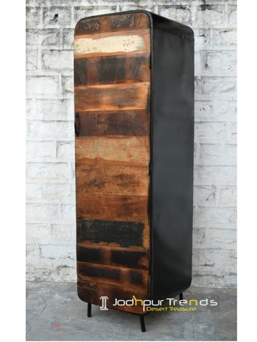 Industrial Armoire | Modern Industrial Style Furniture