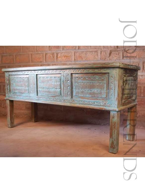 Indian Carved Console Table | Indian Furniture Table