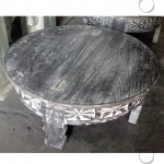 Wooden Grinder | Vintage Area Accent Furniture