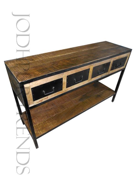 Vintage Console Table | Vintage Furniture Industrial