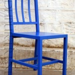 French Bistro Chair in Blue | Vintage Furniture Chairs