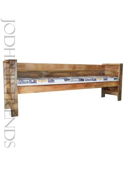 Industrial Bench in Mango Wood | Mango Wood Furniture India