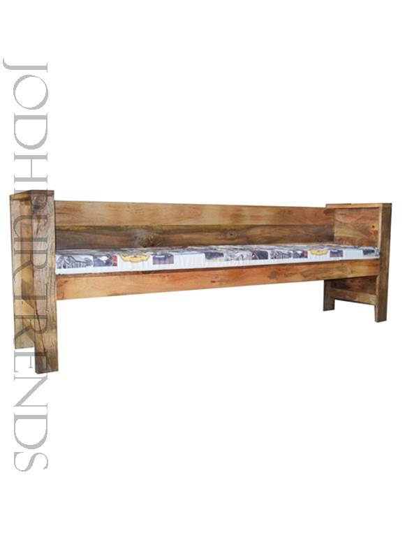 Industrial Bench in Mango Wood | Mango Wood Furniture India