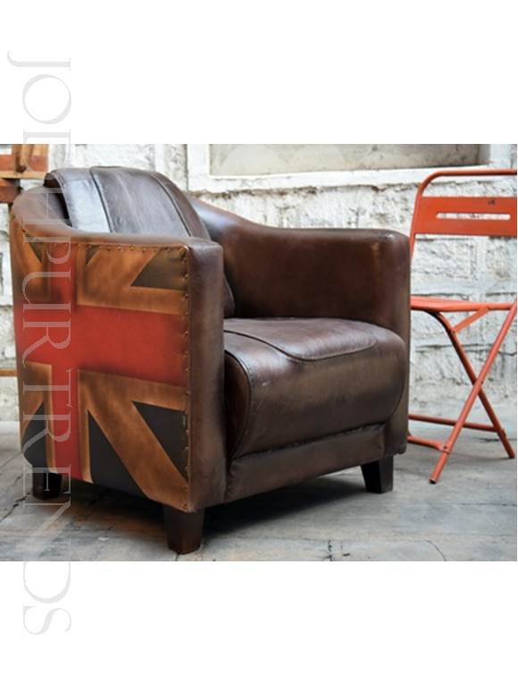 Vintage Armchair | Antique Leather Furniture