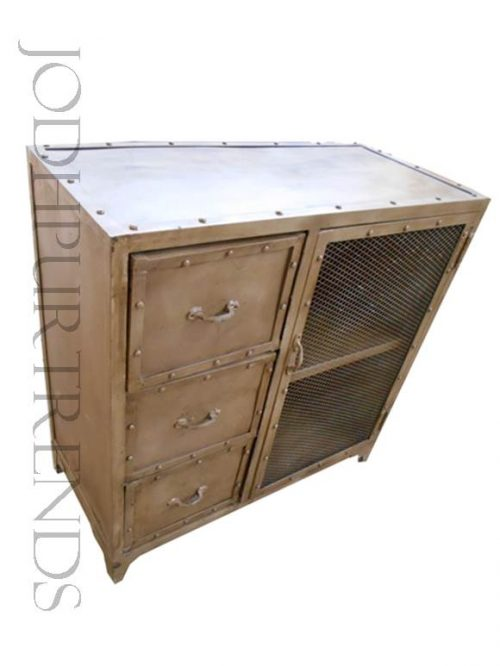 Industrial Design Cabinets | Iron Furniture Industrial