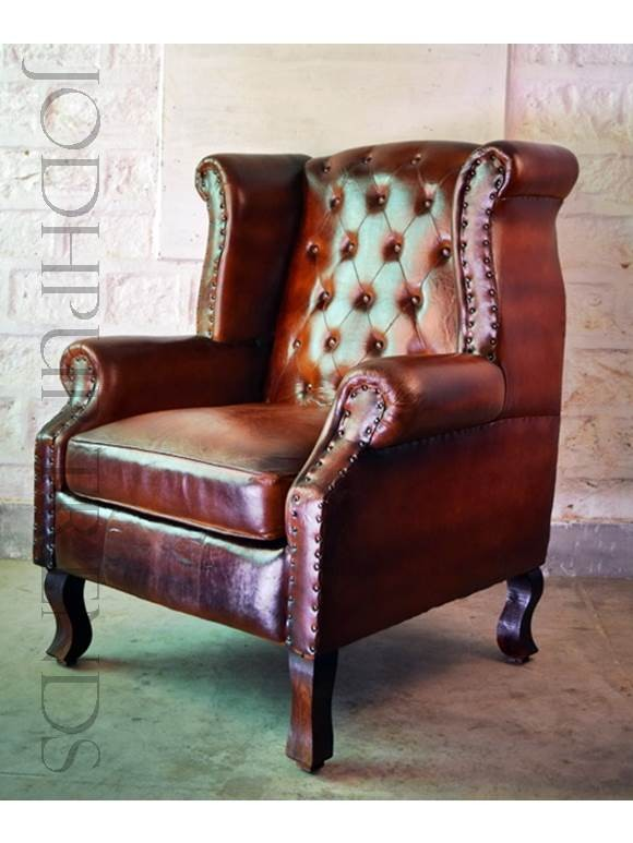 Large Chesterfield Armchair | Chesterfield Sofa