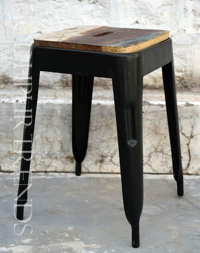 Standard Stool in Black | Restaurant Stools Wholesale