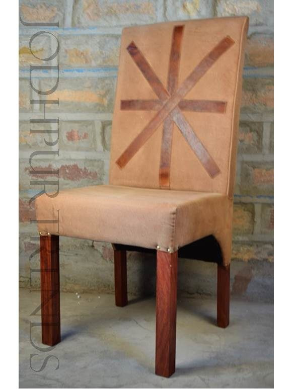 industrial upholstered chair