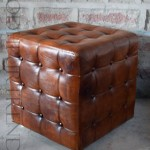 All Leather Pouf | Bar And Restaurant Tables And Chairs