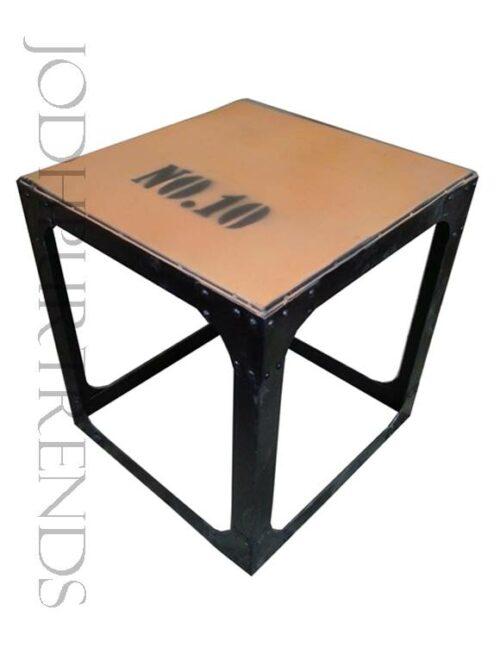 Industrial Stool in Iron | Industrial Look Furniture