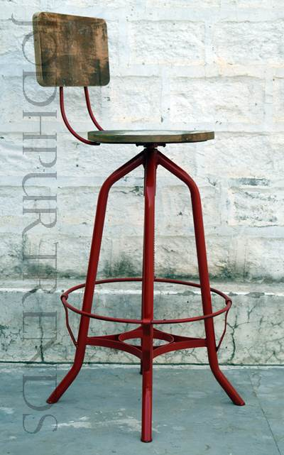 Bar Chair Vintage Industrial Style Furniture Jodhpurtrends