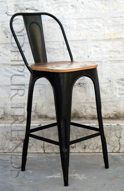Tolix Chair in Black | Industrial Furniture Wholesale